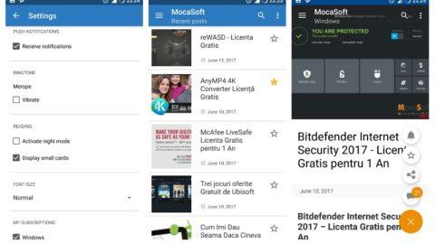MocaSoft – ANDROID App