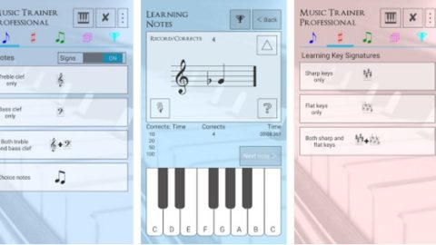 Music Trainer Professional PRO Gratuit (Android App)