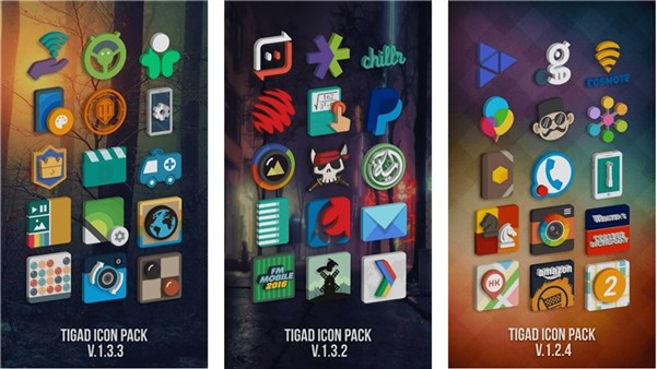 Photo of Tigad Pro Icon Pack – Gratuit