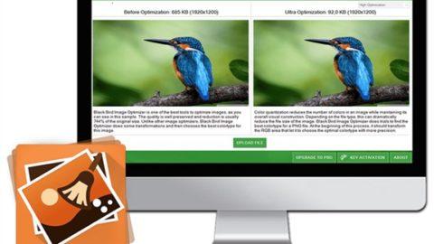 Black Bird Image Optimize cu Licenta Gratis