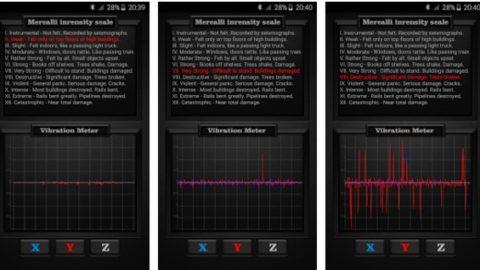 Vibration Meter PRO – Gratuit ( Android App )