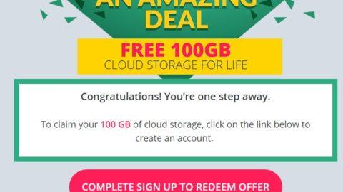 Zoolz Cloud Storage 100 GB Gratis pe viata
