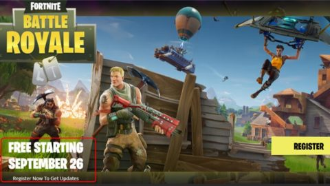 FORTNITE BATTLE ROYALE – Gratis