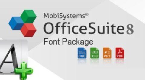 Font Pack for OfficeSuite Gratis