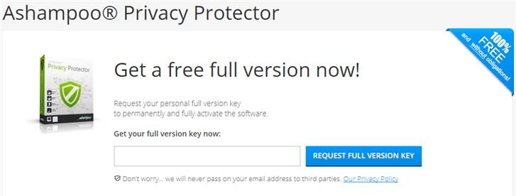 Ashampoo Privacy Protector - Licenta Gratis