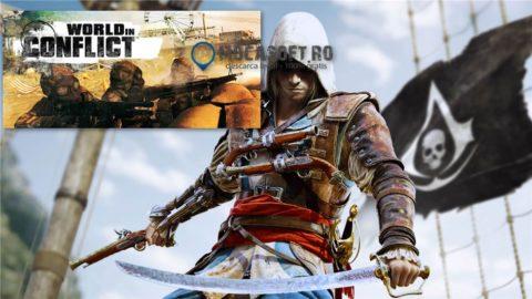 Assassin's Creed 4 Black Flag si World in Conflict – Gratis / Full