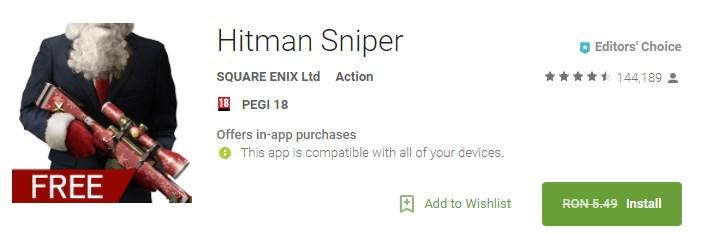 Hitman Sniper Joc Full (Android)