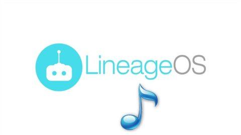 Descarca ringtonurile LineageOS