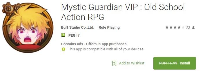 Mystic Guardian VIP Gratis