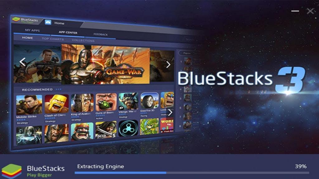 Bluestacks 3 install