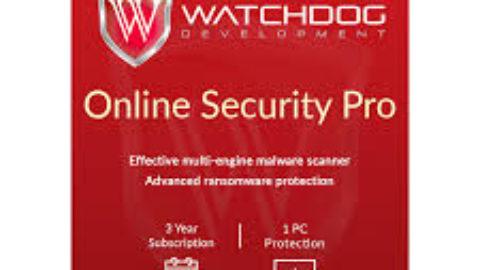 Watchdog Online Security Pro Licenta Gratis