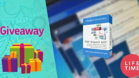 PDF Export Kit – Licenta Gratis