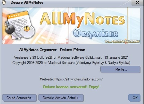AllMyNotes Organizer Deluxe Edition Giveaway