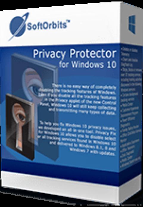 SoftOrbits Privacy Protector pentru Windows 10 – Gratis