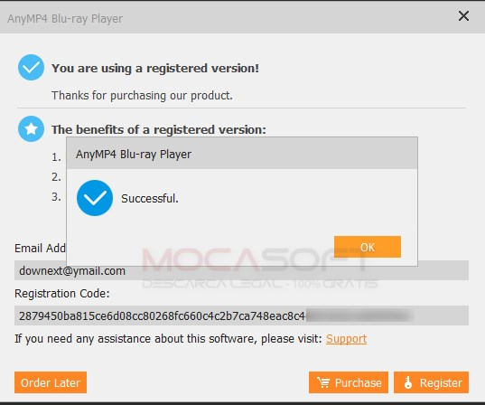 AnyMP4 Blu-ray Player Giveaway (mocasoft)