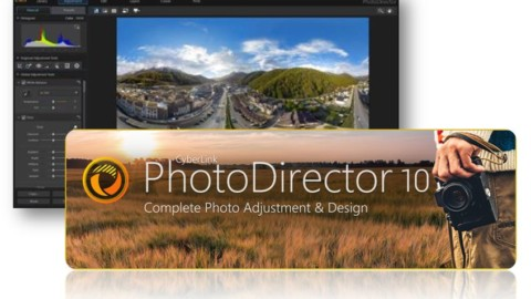 Cyberlink PhotoDirector 10 Deluxe Licenta GRATUITA