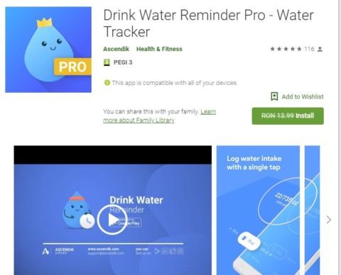 Drink Water Reminder Pro – Gratis