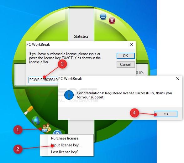 PC WorkBreak Licenta gratuita