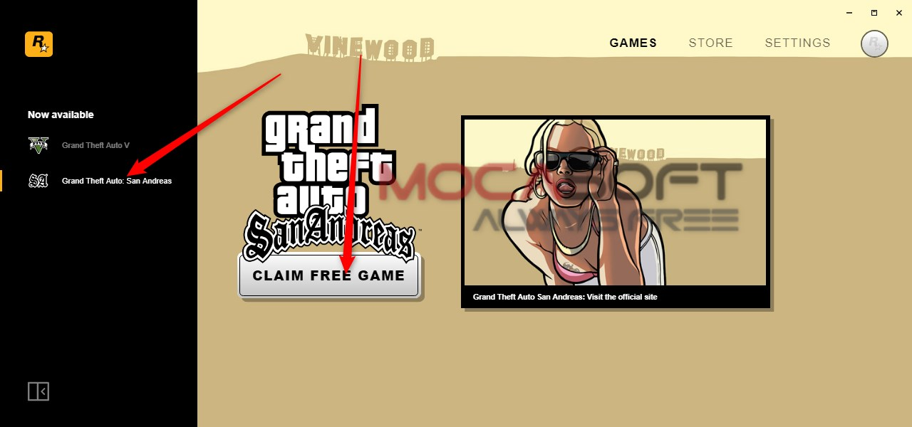 Photo of Grand Theft Auto: San Andreas Gratis