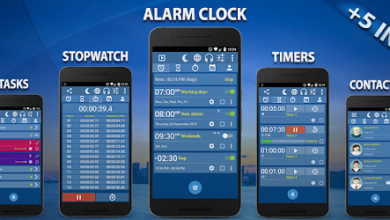 Photo of Alarm Clock & Timer & Stopwatch & Tasks & Contacts