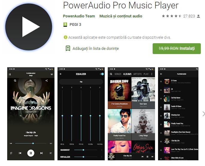 PowerAudio Pro Music Player free