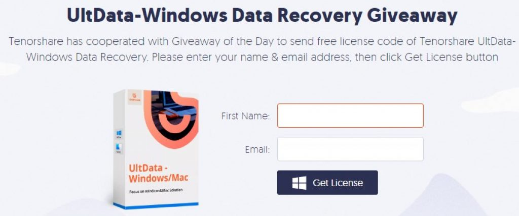 UltData-Windows Data Recovery Giveaway