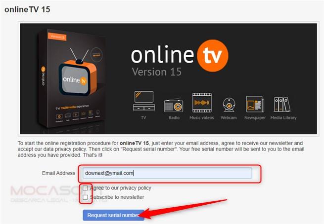 onlineTV15 Cu Licentă Gratuită