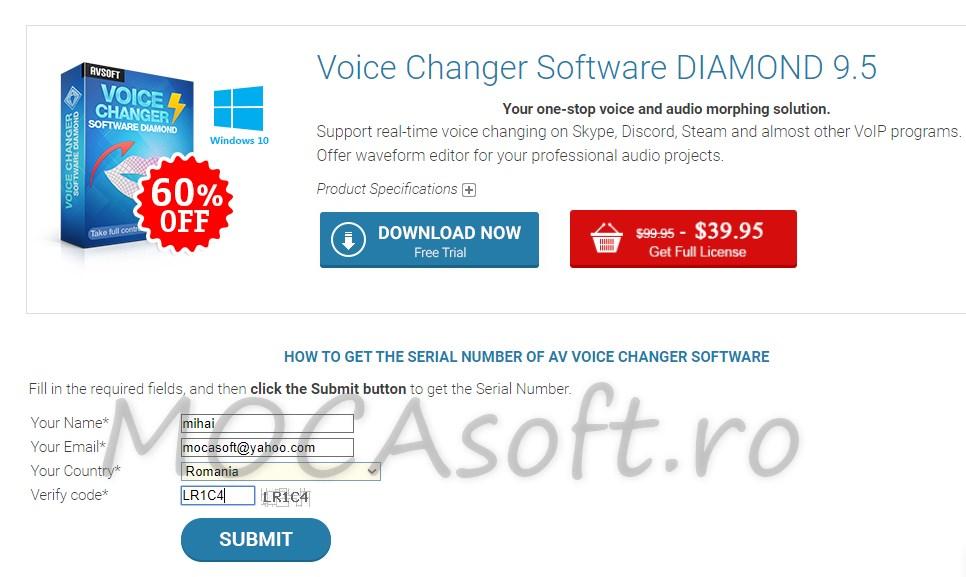 Audio4Fun AV Voice Changer Gratis