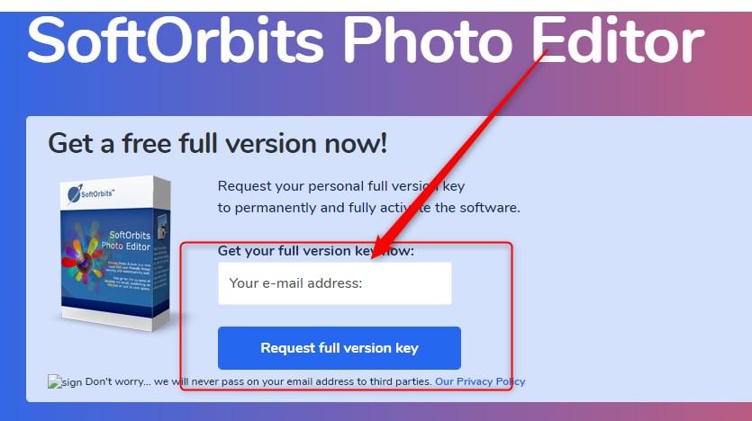 SoftOrbits Photo Editor Gratuit