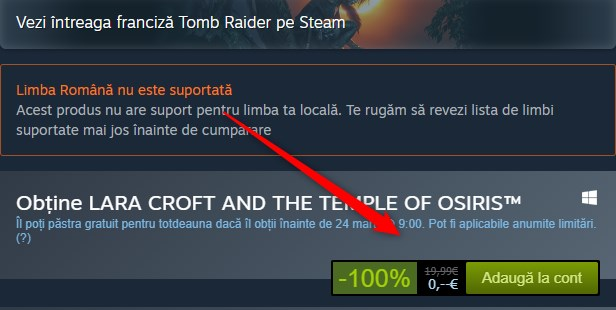 LARA CROFT AND THE TEMPLE OF OSIRIS Joc Gratis