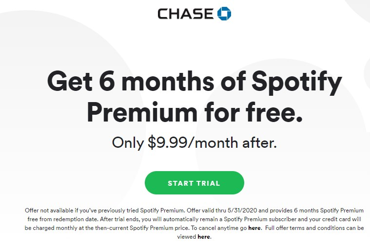 Get 6 months of Spotify Premium for free