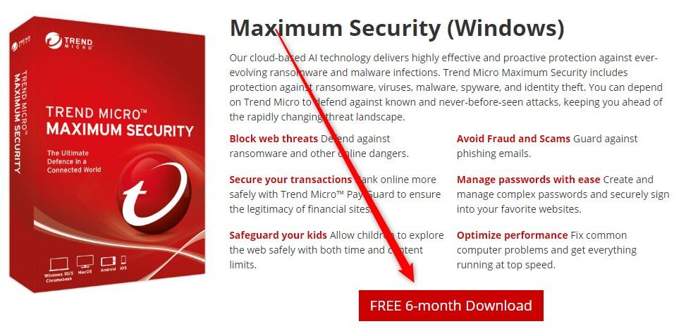 Trend Micro Maximum Security Gratis