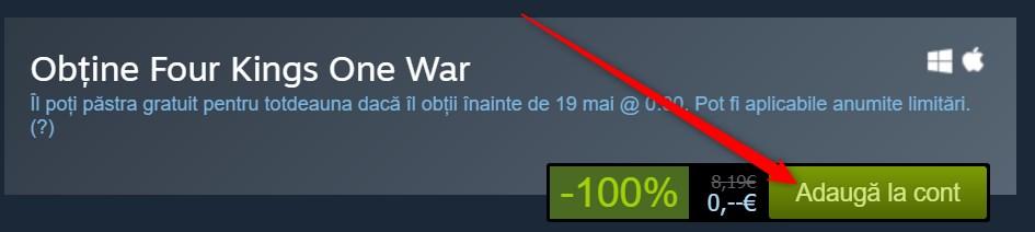 Four Kings One War Joc Gratis PC!