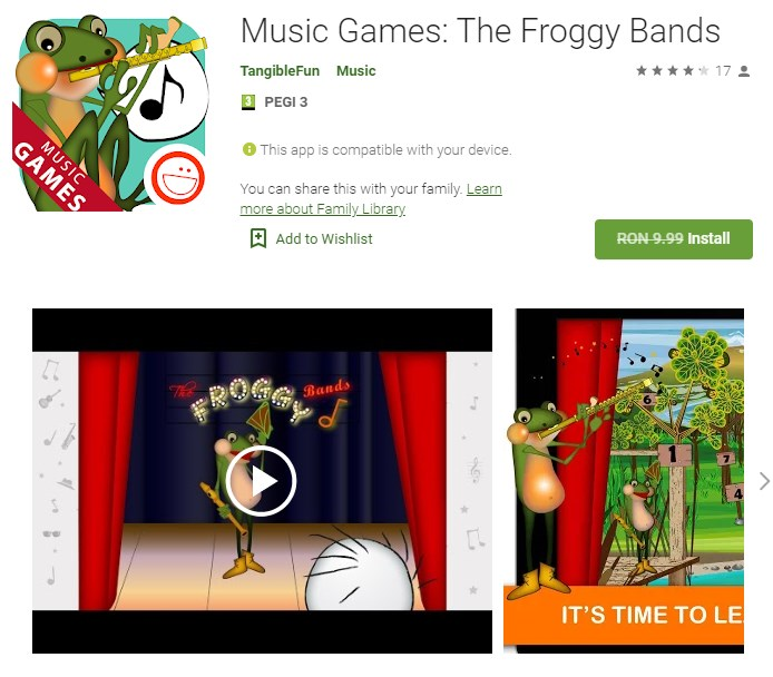 Music Games: The Froggy Bands Giveaway