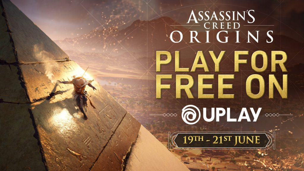 Assassin's Creed Origins gratuit in acest weekend