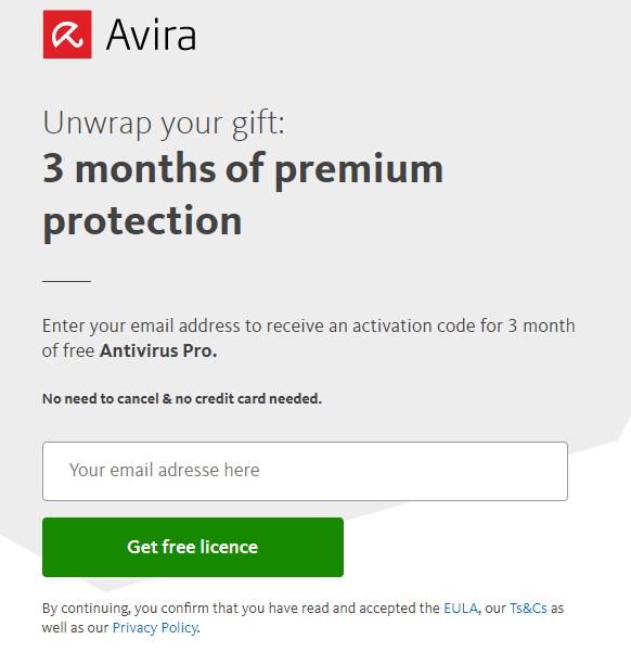 Avira Antivirus Pro - Licenta Gratis