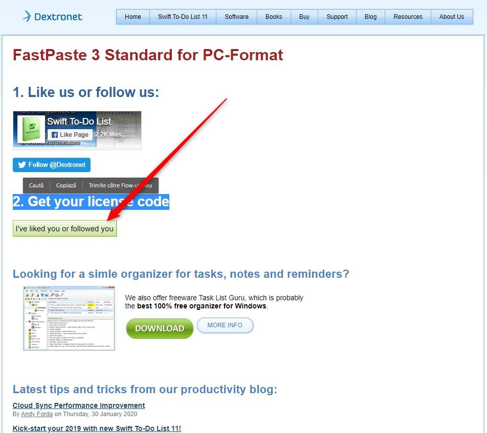 FastPaste 3 Standard Gratis