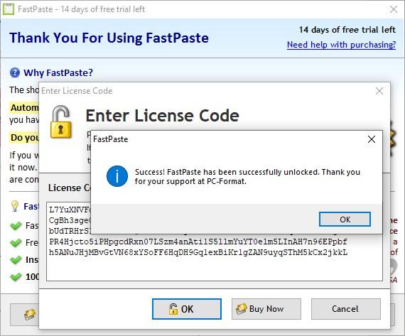 FastPaste 3 Standard Serial Key
