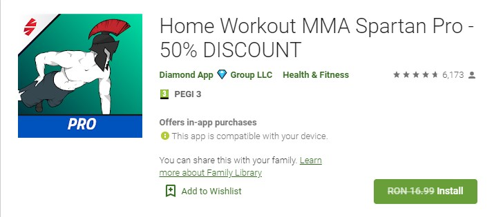 Home Workout MMA Spartan Pro Gratis
