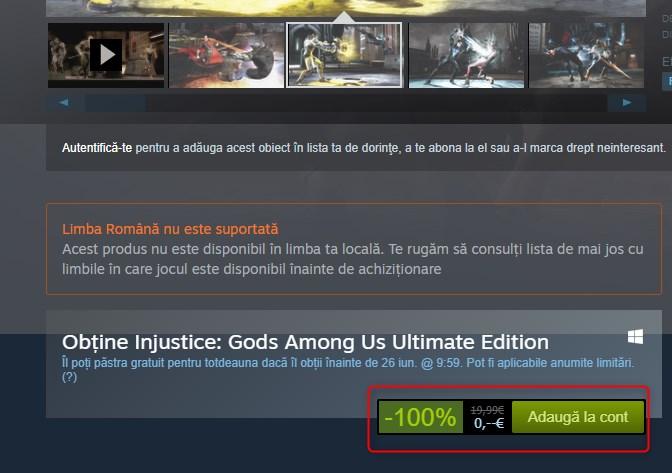 Injustice Gods Among Us Ultimate Edition Gratis