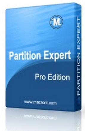 Macrorit Partition Expert Pro box