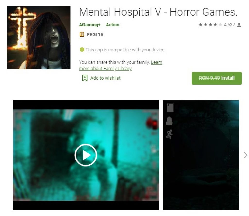 Mental Hospital V - Horror Games