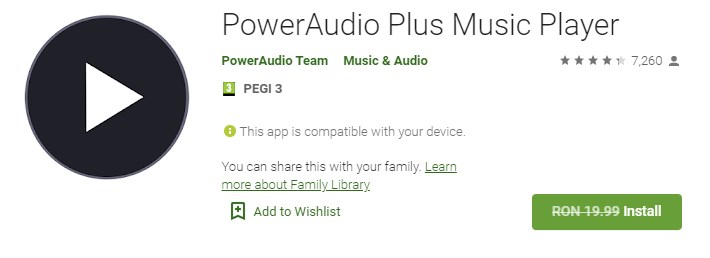 PowerAudio Plus Music Player