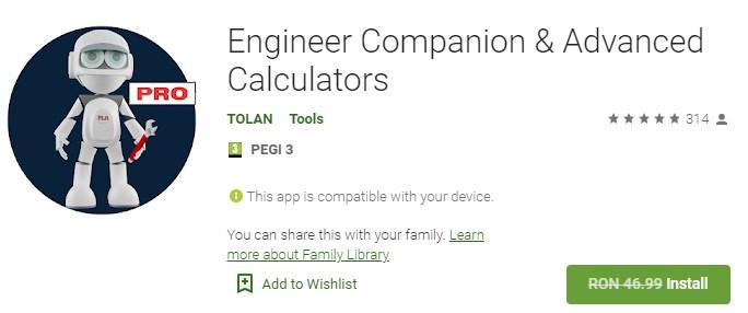 Engineer Companion & Advanced Calculators