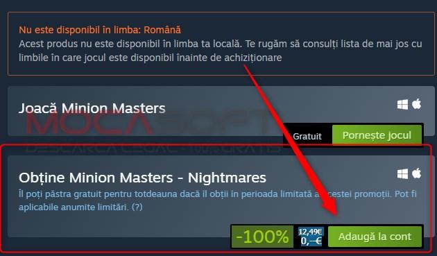 Minion Masters - Nightmares gratuit pe Steam