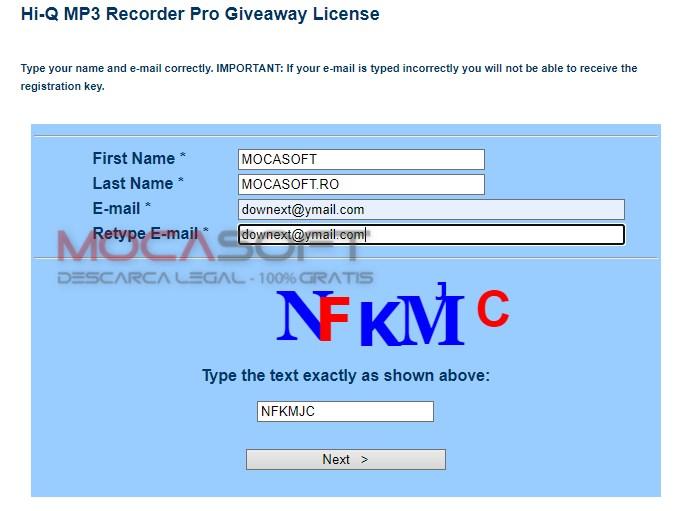 PCWinsoft Hi-Q MP3 Recorder Pro Giveaway