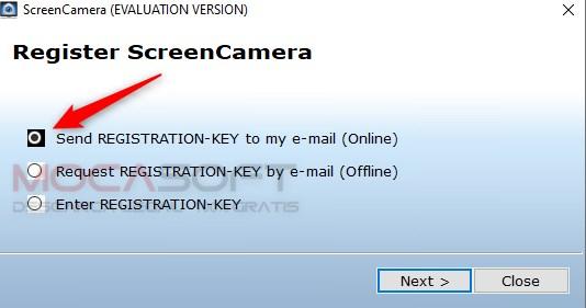Instructiuni pentru inregistrarea ScreenCamera Gratuit