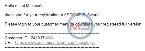 BackUp Maker Professional Gratuit Customer ID