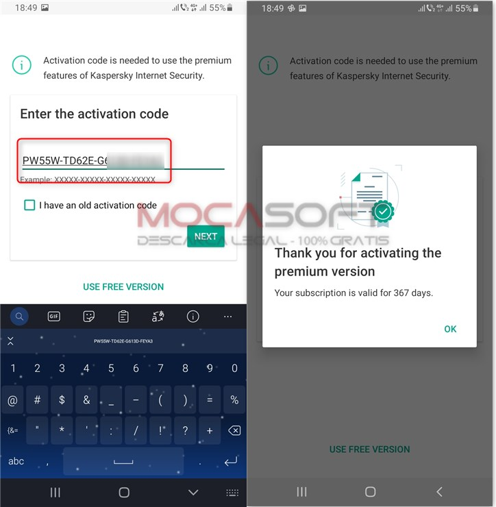 Kaspersky Internet Security Premium Android