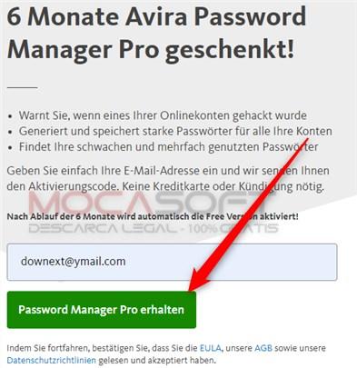 Avira Password Manager Pro Gratuit